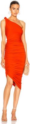 Alix Celeste Dress in Blood Orange   FWRD