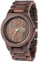 WeWood watch Wood / wood multi-function OBLIVIO CHOCOLATE 9818082 Men's [regular imported goods]