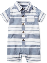 Carter's Striped Chambray Romper, Baby Boys (0-24 months)
