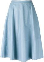 Drome panelled skirt - women - Lamb Skin/Cupro - S