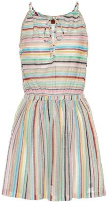 Missoni Mare Striped knit minidress
