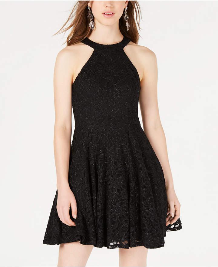 53f71711f Black Lace Dress For Juniors - ShopStyle