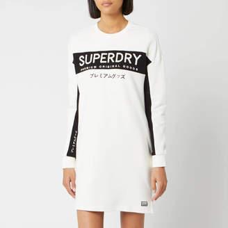 Superdry Women's Panel Graphic Sweat Dress
