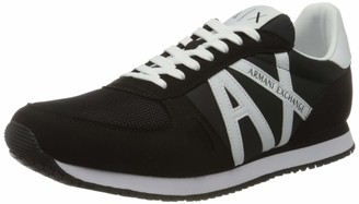 Armani Exchange A|X Men's Low Top Logo Lace Up Classic Trainer Sneaker