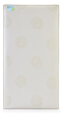 "Sealy Baby Naturalis 2-Stage 5.75"" Firm Hybrid Waterproof Standard Toddler & Crib Mattress"