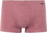 Hanro - Striped Mercerised Cotton-jersey Boxer Briefs