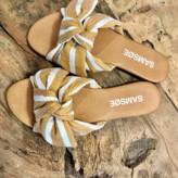 Samsoe & Samsoe Samsoesamsoe SamsoeSamsoe - Sandals Freeso - 36 | leather | mustard | Cream and Mustard - Mustard