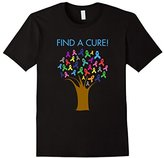 Find a Cure for Cancer Awareness Ribbons Tree T-Shirt