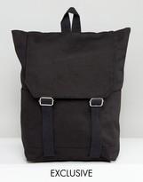 Reclaimed Vintage Backpack In Black