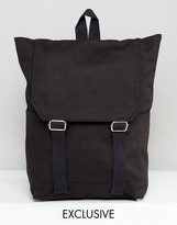 Reclaimed Vintage Inspired Backpack In Black