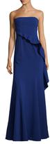 Jay Godfrey Allman Flounce Waist Asymetric Gown