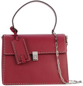 Valentino Garavani Valentino Stud Stitching shoulder bag - women - Calf Leather - One Size