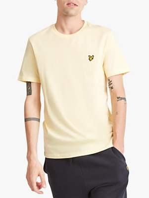 Lyle & Scott Plain Crew Neck Stretch T-Shirt