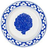 "Oscar de la Renta Blue/White 8.5\"" Artichoke Salad Plate"