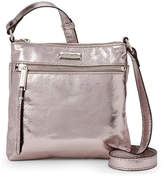 Kenneth Cole Reaction Silver Murray Mid Crossbody