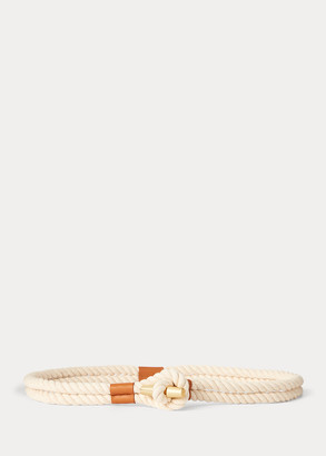 Ralph Lauren Medium Cotton Rope Belt