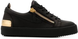 Giuseppe Zanotti Gail Steel low-top sneakers