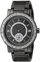 Vince Camuto Women's VC/5199BKBK Swarovski Crystal Accented Bracelet Watch