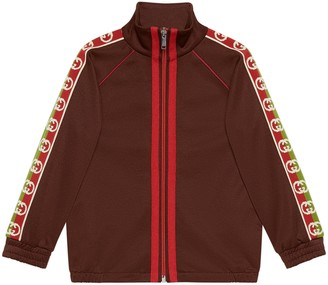 Gucci Children's technical jersey jacket
