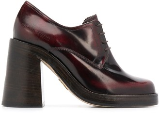 DSQUARED2 Derby-style high-heeled pumps