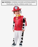 Rubie Enterprises, Ltd. PAW Patrol Marshall Costume, Toddler & Little Boys (2T-7)