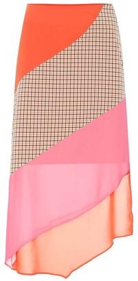 REJINA PYO Bella paneled crepe skirt