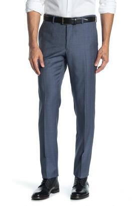 John Varvatos Bedford Blue Check Suit Separates Pants