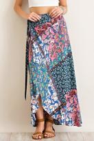 Entro Patchwork Maxi Skirt