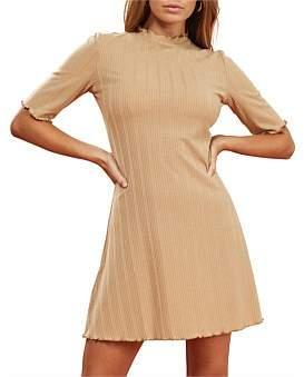 MinkPink Ali Rib Mini Dress