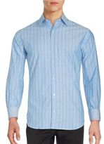 Tailorbyrd Long Sleeve Striped Shirt