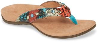Vionic Lucia Crystal Embellished Flip Flop