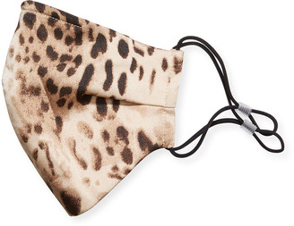 Bronx and Banco Cheetah-Print Reusable Face Mask Covering