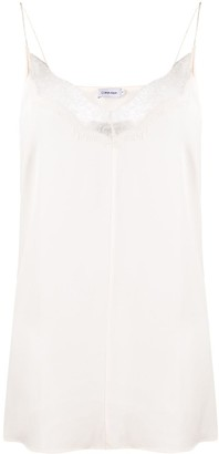 Calvin Klein Lace-Trimmed Cami Top