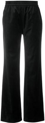 Emporio Armani Embroidered Bear Straight Trousers