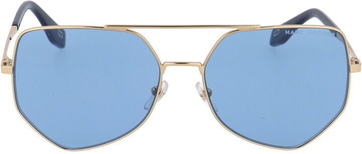 Thumbnail for your product : Marc Jacobs Geometric Frame Sunglasses