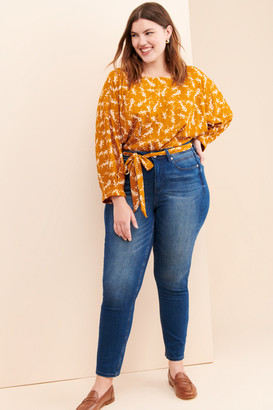 Seven7 Tummy-Less Skinny Jeans