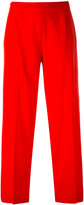 Piazza Sempione cropped trousers - women - Spandex/Elastane/Virgin Wool - 38