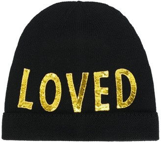 Gucci Loved sequin-embellished beanie