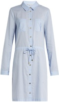 Heidi Klein St Barth drawstring-waist cotton shirtdress