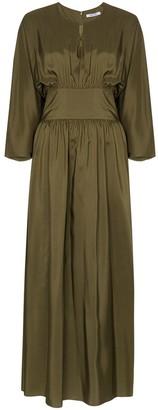Deitas Hera silk dress