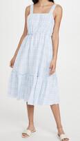Thumbnail for your product : ENGLISH FACTORY Sleeveless Midi Dress