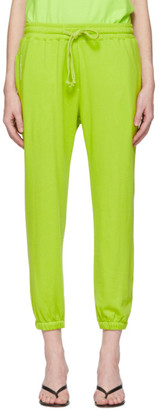 pushBUTTON Green Logo Lounge Pants