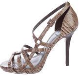 Tory Burch Elizabella Embossed Sandals