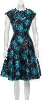 Sachin + Babi Noir Printed Sleeveless Dress w/ Tags