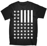 JCPenney Novelty T-Shirts Stars and Stripes Graphic Tee