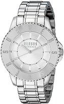 Versus By Versace Men's SGM210015 TOKYO Analog Display Quartz Silver Watch