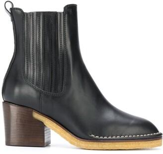 Tod's high heel Chelsea boots