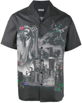 Lanvin printed bowling shirt - men - Cotton - 39
