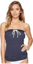 Tommy Hilfiger New England Side Cinched Bandini Top Women's Swimwear