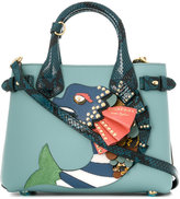 Burberry studded fish tote